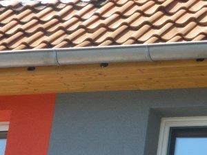Traufkasten für Gebäudebrüter